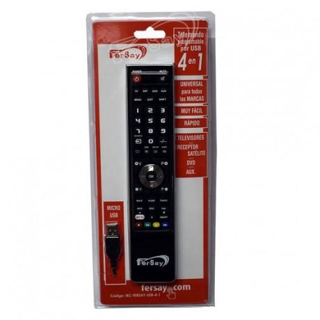 MANDO TV PROGRAMABLE POR USB TODAS LAS MARCAS